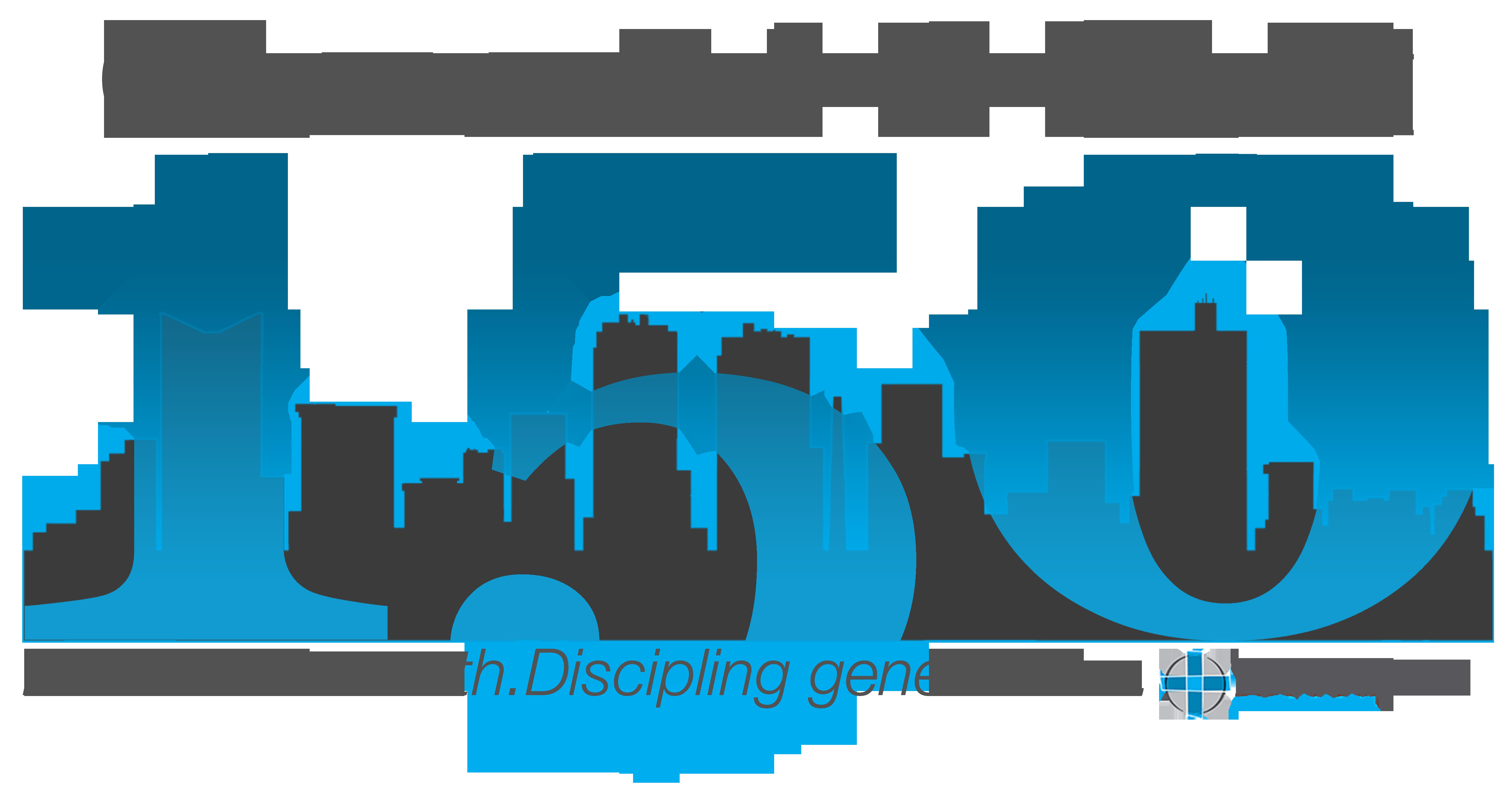 150th Anniversary Logo w/ Cityscape